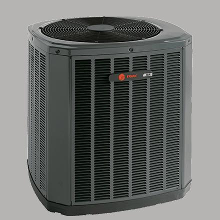 Trane XR17 heat pump.