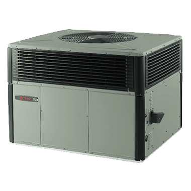 Trane XL16c packaged gas/electric systems.