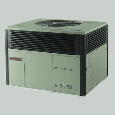Trane XL16c packaged heat pump systems.