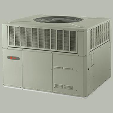 Trane XR14c packaged heat pump systems.