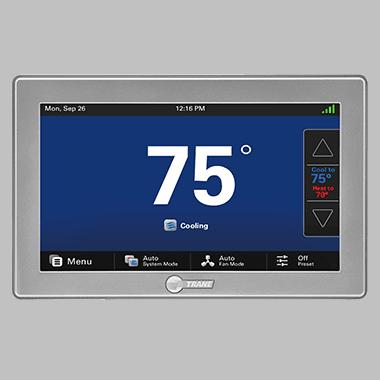 Trane thermostats.